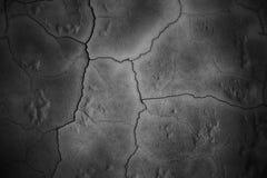 Zwarte muren als achtergrond, donkere textuur concrete oppervlakte Royalty-vrije Stock Afbeelding
