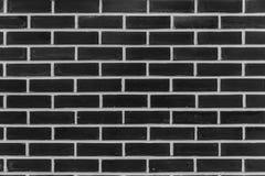 Zwarte muurbaksteen Stock Foto's