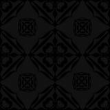 Zwarte Naadloze Textiel Als achtergrond vector illustratie
