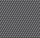 Zwarte naadloze textuur. Vectorachtergrond Royalty-vrije Stock Foto