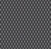 Zwarte naadloze textuur. Vectorachtergrond Stock Foto's