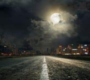 Zwarte Nacht Royalty-vrije Stock Foto
