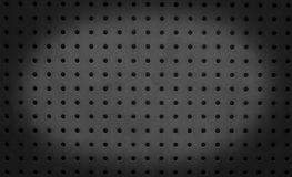 Zwarte netwerkachtergrond Royalty-vrije Stock Afbeeldingen