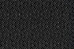 Zwarte Nylon Stoffentextuur Als achtergrond, Groot Gedetailleerd Geweven Horizontaal Macroclose-uppatroon, Textielexemplaarruimte stock foto