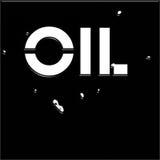Zwarte olie Stock Foto