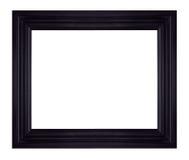 Zwarte omlijsting Royalty-vrije Stock Afbeelding