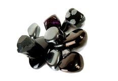 Zwarte onix. Royalty-vrije Stock Afbeelding