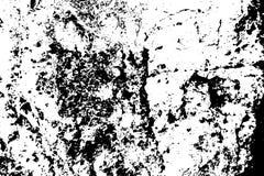 Zwarte op witte doorstane textuur De oude boomschors stratched oppervlakte Verontruste bekleding voor uitstekend effect royalty-vrije illustratie
