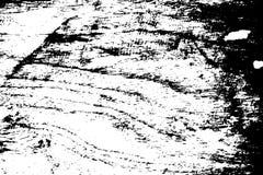 Zwarte op witte gekraste textuur De oppervlakte van de houtraad Verontruste bekleding voor uitstekend effect vector illustratie