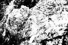 Zwarte op witte grungy textuur Doorstane concrete oppervlakte Verontruste bekleding voor uitstekend effect vector illustratie
