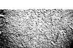 Zwarte op witte ruwe textuur Concrete muur met witte segmentoppervlakte Verontrust bekledings uitstekend effect vector illustratie