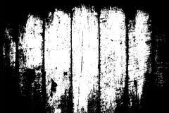 Zwarte op witte timmerhouttextuur De oppervlakte van de houtraad met vignet Verontruste bekleding voor uitstekend effect royalty-vrije illustratie