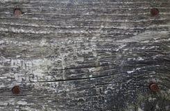 Zwarte oude houten raad Stock Foto