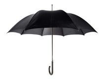 Zwarte paraplu Stock Fotografie