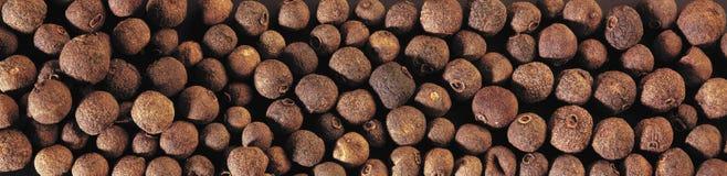 Zwarte peper Stock Afbeelding
