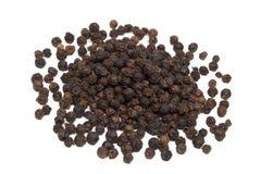 Zwarte peper Stock Foto's