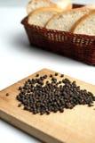 Zwarte peper Stock Afbeeldingen