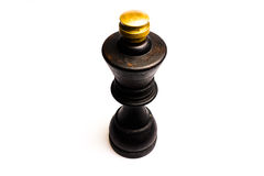 Zwarte pepermolen Royalty-vrije Stock Foto