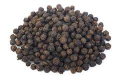 Zwarte peperzaden Royalty-vrije Stock Afbeelding