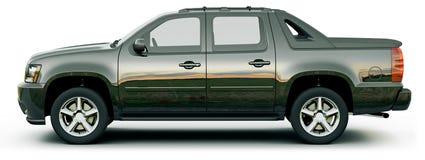 Zwarte pick-up vector illustratie