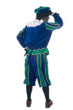 Zwarte Piet from the back Royalty Free Stock Photography