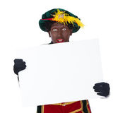 Zwarte piet (black pete) stock photography