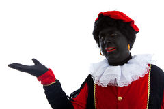 Zwarte piet ( black pete) typical Dutch characte Royalty Free Stock Images