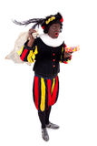 Zwarte piet ( black pete) typical Dutch characte Royalty Free Stock Photography
