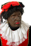 Zwarte piet ( black pete) typical Dutch character Royalty Free Stock Images