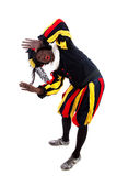 Zwarte piet ( black pete) typical Dutch character Stock Photography