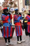 Zwarte Piet ( Black Peter ) Royalty Free Stock Images