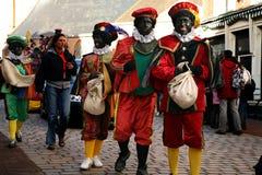 Zwarte Piet (Peter nero) Fotografia Stock Libera da Diritti