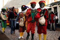 Zwarte Piet (schwarzer Peter) lizenzfreies stockfoto