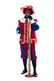 Zwarte Piet is singing Royalty Free Stock Image