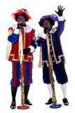 Zwarte Piet is singing Royalty Free Stock Photo