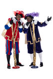 Zwarte Piet is singing Royalty Free Stock Images
