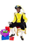 Zwarte piet sinterklaas (black pete) Royalty Free Stock Photo