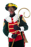 Zwarte piet sinterklaas (black pete) Royalty Free Stock Images