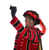 Zwarte Piet ,Sinterklaas (black pete) Royalty Free Stock Images