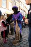 Zwarte Piet (Zwarte Peter) royalty-vrije stock afbeelding