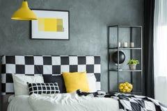 Zwarte plank met citrusvrucht royalty-vrije stock afbeelding