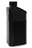 Zwarte plastic gallon Royalty-vrije Stock Afbeelding
