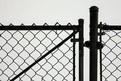 Zwarte poort Stock Fotografie