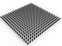 Zwarte rechthoekige server #5 Royalty-vrije Stock Afbeelding