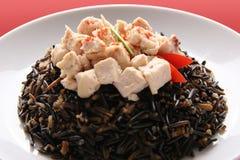 Zwarte rijst. Royalty-vrije Stock Fotografie