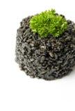 Zwarte risotto Stock Foto