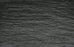 Zwarte rotstextuur Royalty-vrije Stock Afbeelding
