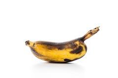 Zwarte rotte banaan Royalty-vrije Stock Afbeeldingen