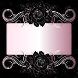Zwarte rozen Royalty-vrije Stock Foto's