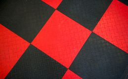 Zwarte Rubber Antislipmat Royalty-vrije Stock Afbeelding